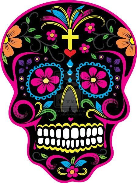 450x601 18 Best Sugar Skull Images On Sugar Skulls, Drawings