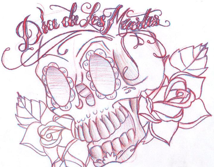 719x560 Dia De Los Muertos By Bigfluffdaddy17