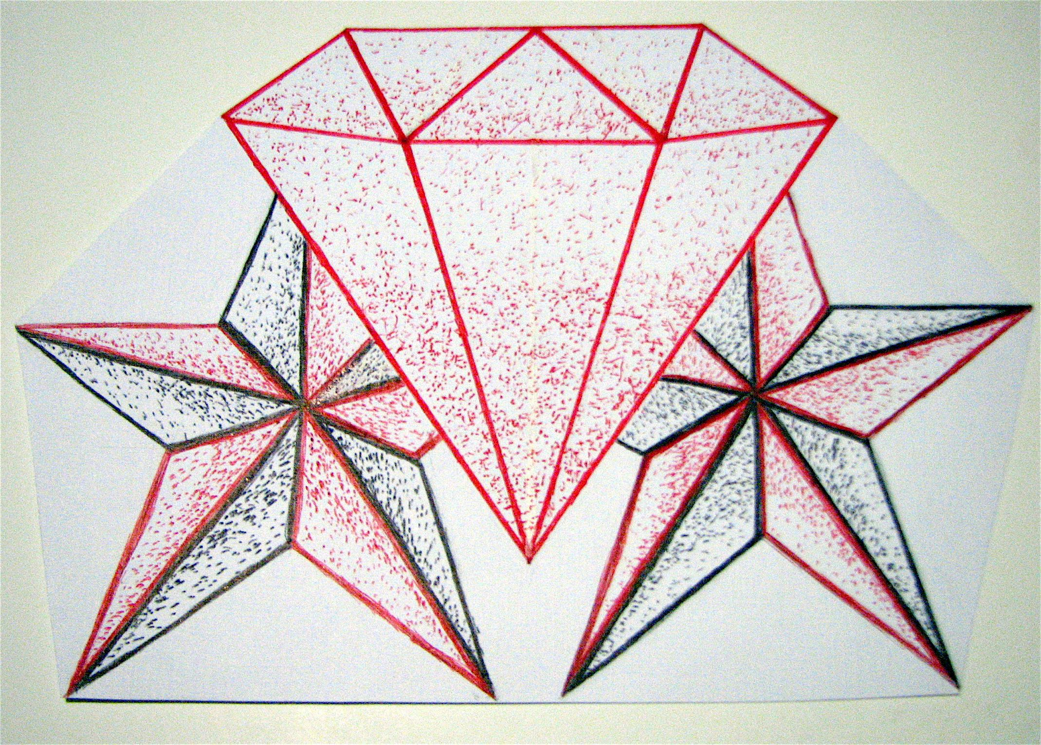 Diamond Drawing Easy at GetDrawings.com | Free for personal use ...
