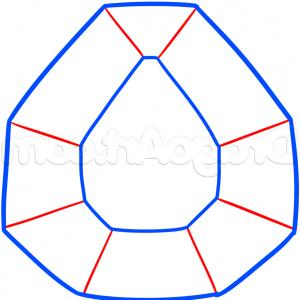300x300 Diamond D Drawing Photo D Diamond Drawing How To Draw A Diamond