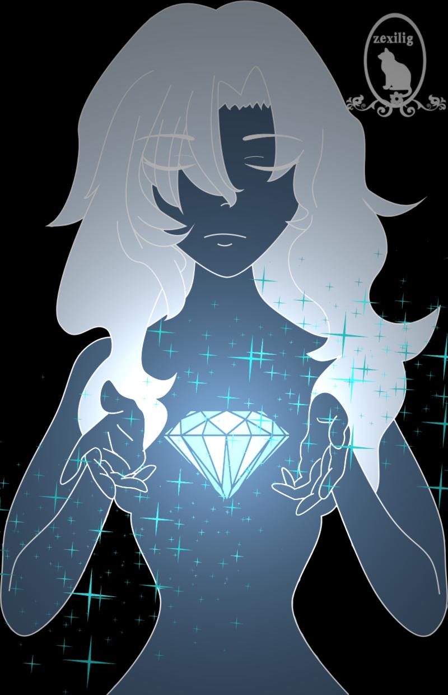 800x1240 Diamond Heart By Zexilig