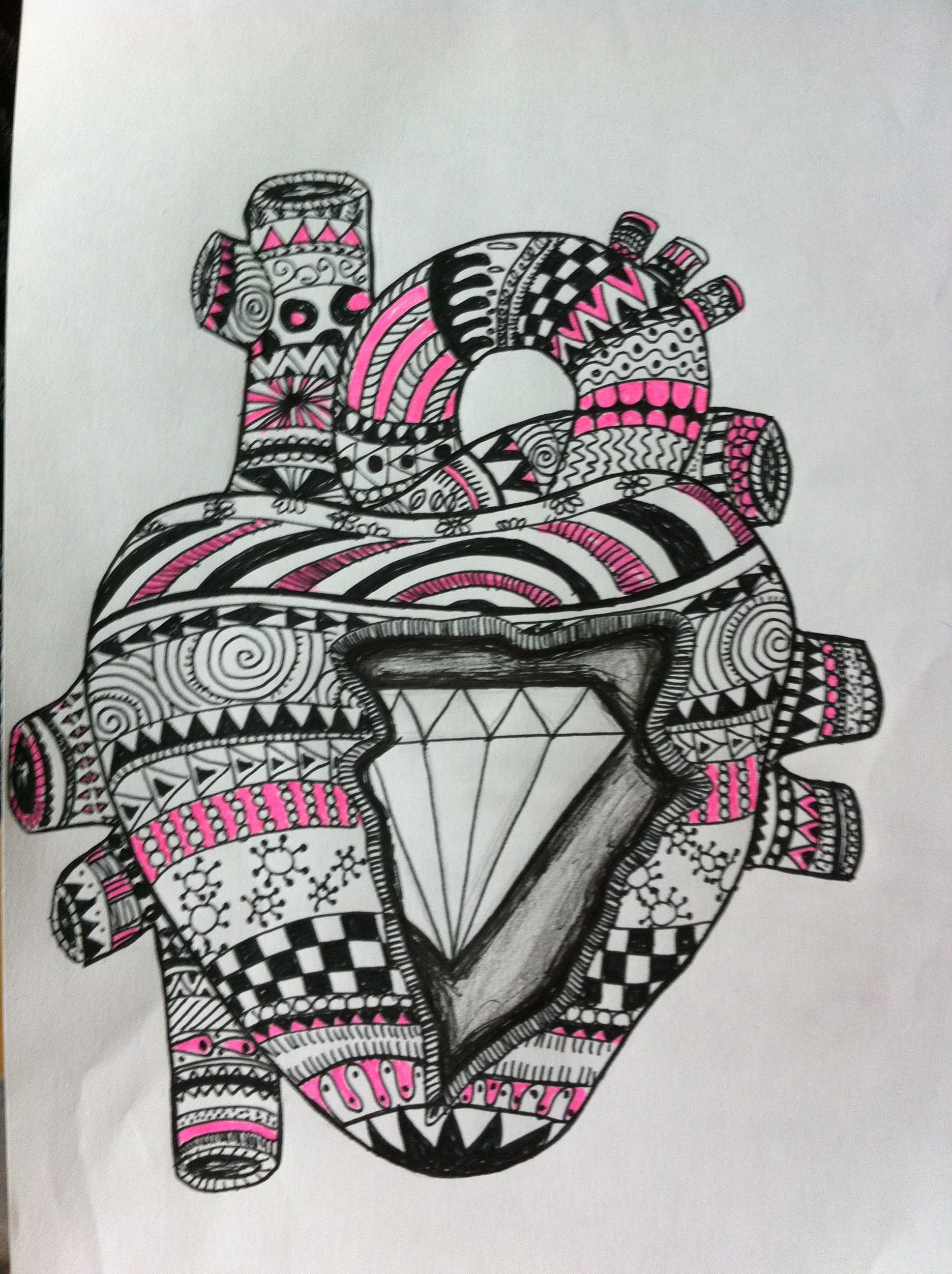 1936x2592 Diamond Heart