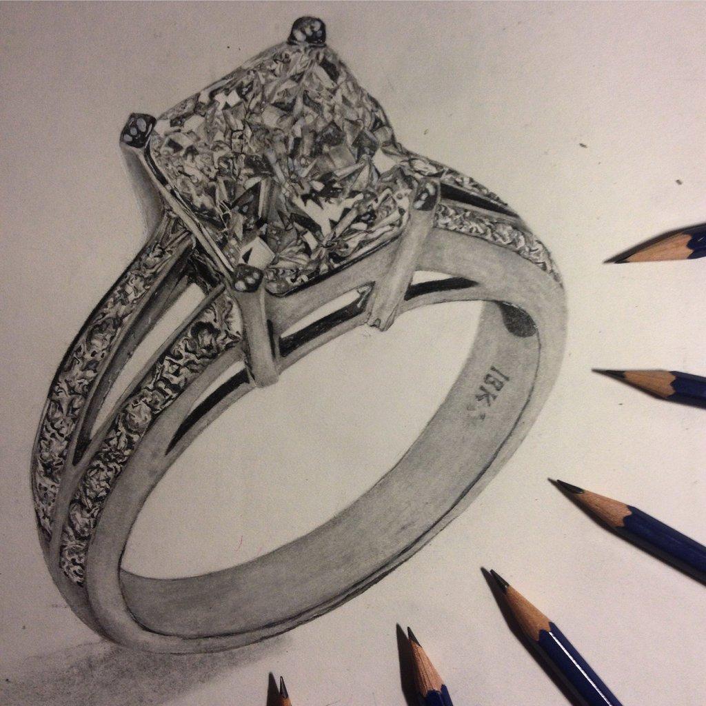 diamond pencil drawing at getdrawingscom free for