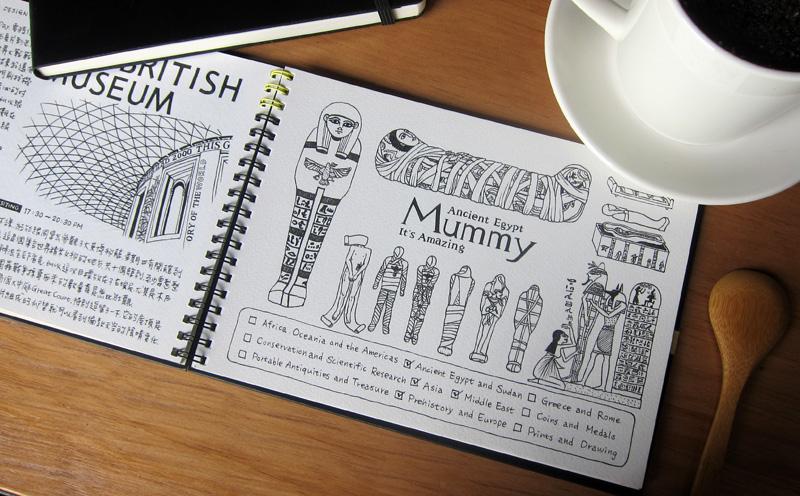 800x496 London Drawing Diary The British Museum Amp Mummies Daizy Gallery