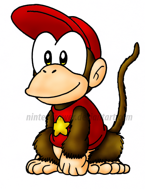 488x639 Diddy Kong By Nintendrawer