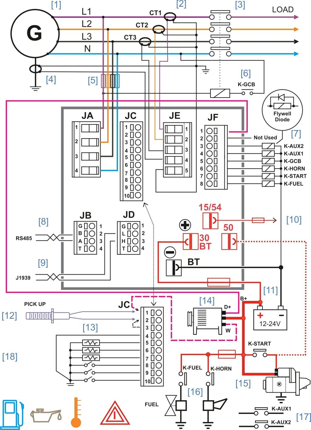 Diesel Engine Drawing At Free For Personal Use Schematics 1024x1415 Car Diagram Starter Generator Control