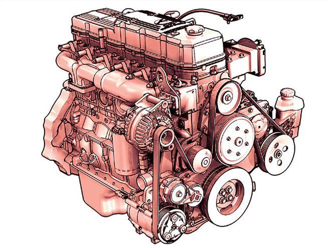 660x495 Cummins Diesel Motor