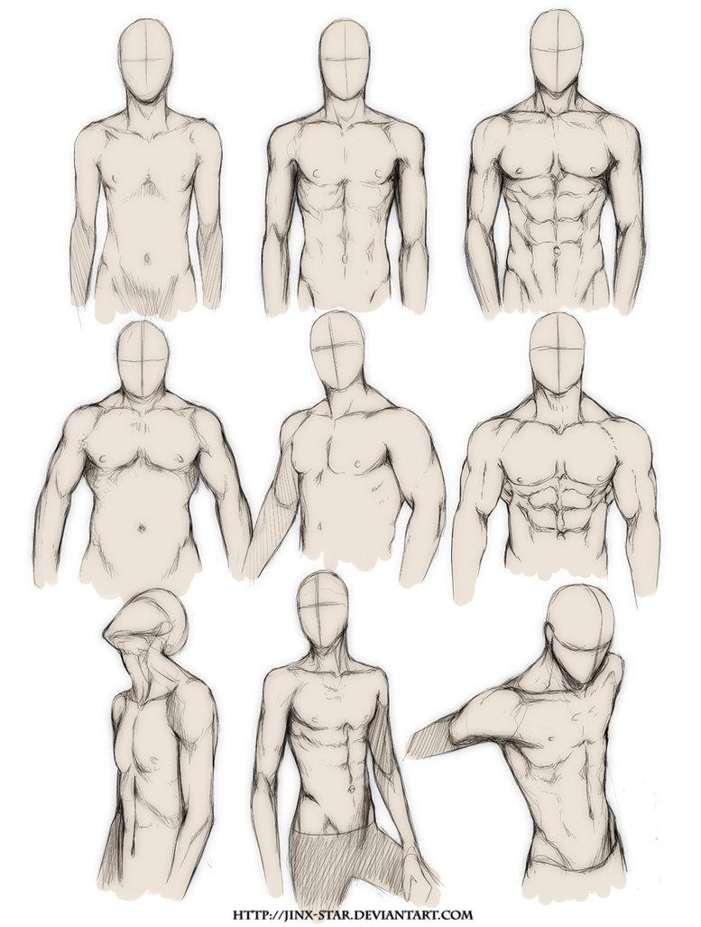 777x1027 Body Type Study  By Jinx Star