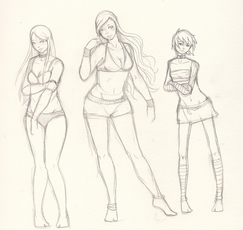 810x766 Different Body Types By Missrabennest