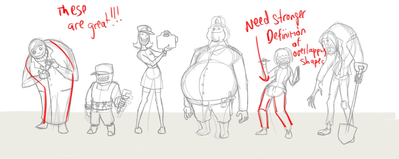 1280x512 Shapes, Bodies To Draw Like This Character