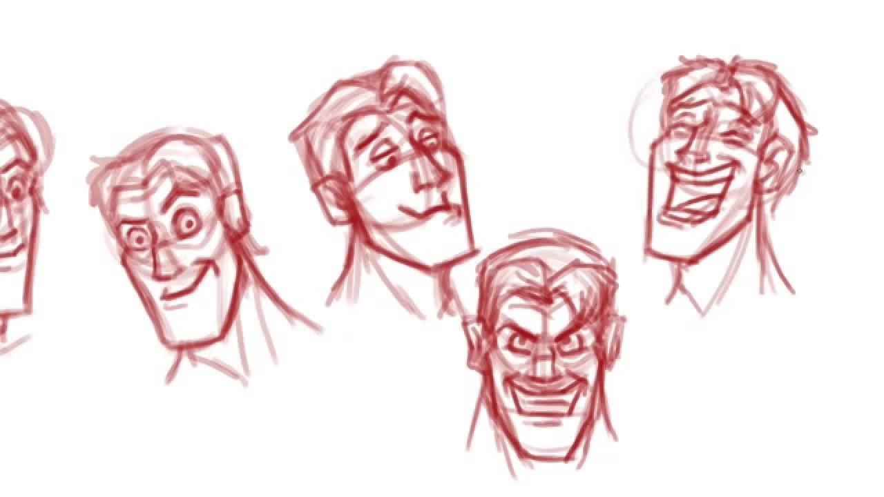 1280x720 How To Draw Faces