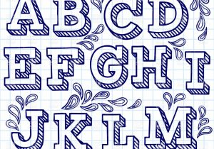 300x210 Different Letter Fonts To Draw For Drawing Hand