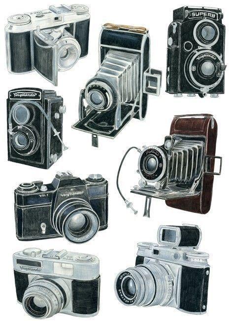 469x650 8 Voigtlander Camera Drawings