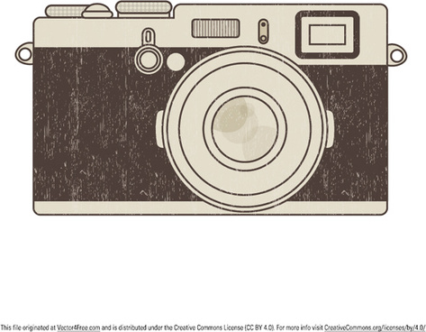 473x368 Old Camera Drawing Free Vector Download (91,784 Free Vector)