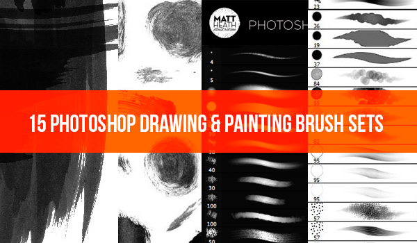 600x350 Drawing Painting Photoshop Brushes Material