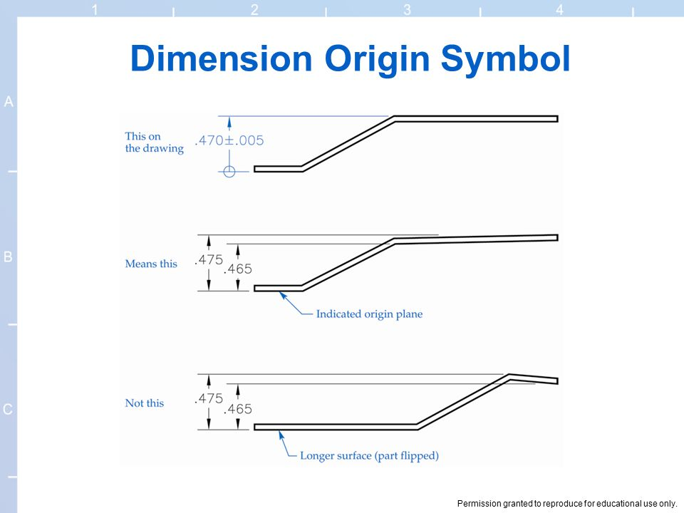 Dimension Symbols Of Drawing At Getdrawings Free For Personal