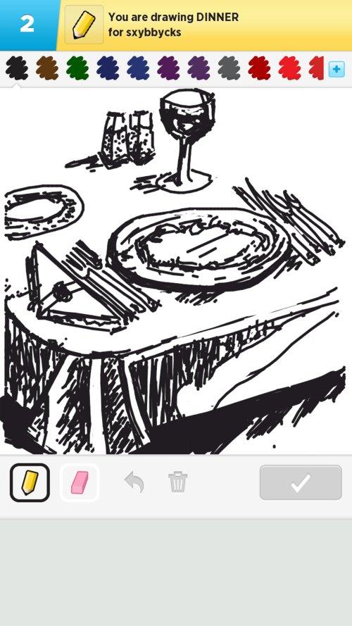 500x889 Dinner Drawings