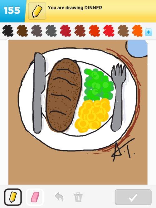 500x667 Dinner Drawings