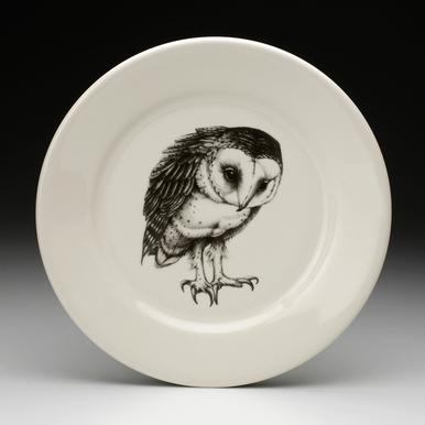 386x386 Dinner Plate Barn Owl
