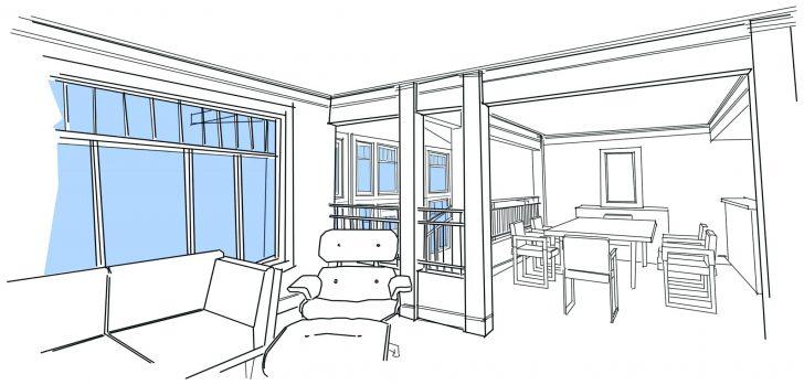728x349 Dining Room Sketch Of Dining Room. Sketch Dining Room. Sketch