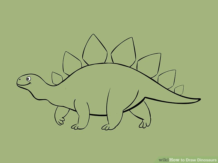 728x546 5 Ways To Draw Dinosaurs