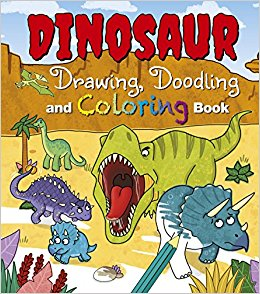 260x294 Dinosaur Drawing, Doodling And Coloring Book Arcturus Publishing