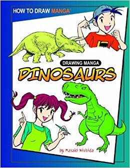 260x335 Drawing Manga Dinosaurs (How To Draw Manga) Masaki Nishida