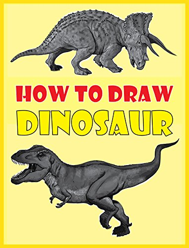 381x500 How To Draw Dinosaurs The Step By Step Dinosaur Drawing Book