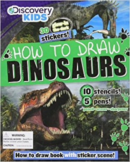 260x324 How To Draw Dinosaurs (Discovery Kids) Parragon Books