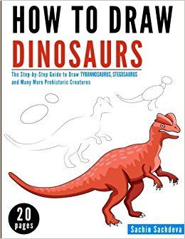 260x336 How To Draw Dinosaurs The Step By Step Guide To Draw