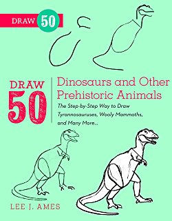 250x320 How To Draw Incredible Dinosaurs (Smithsonian Drawing Books