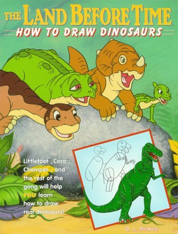 362x475 The Land Before Time How To Draw Dinosaurs Q. L. Pearce, Neal