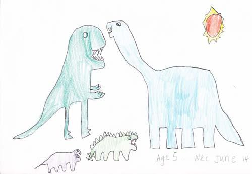 500x345 Blue Tadpole Studio 10 Dinosaurs In 10 Days (01)