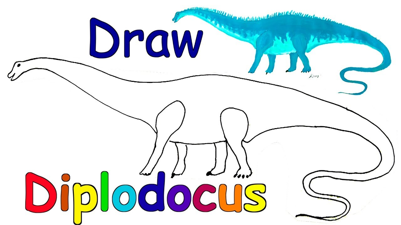 1280x720 How To Draw Dinosaurs