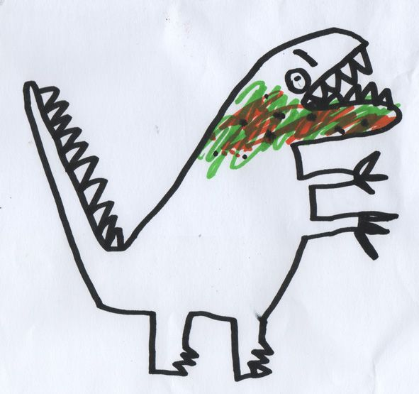 591x555 Dinosaur Dinosaurs Dinosaur Drawing, Sea Monsters