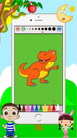 300x533 Dino Coloring Book