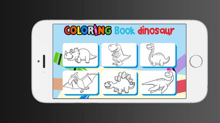 750x422 Dinosaur Coloring Book