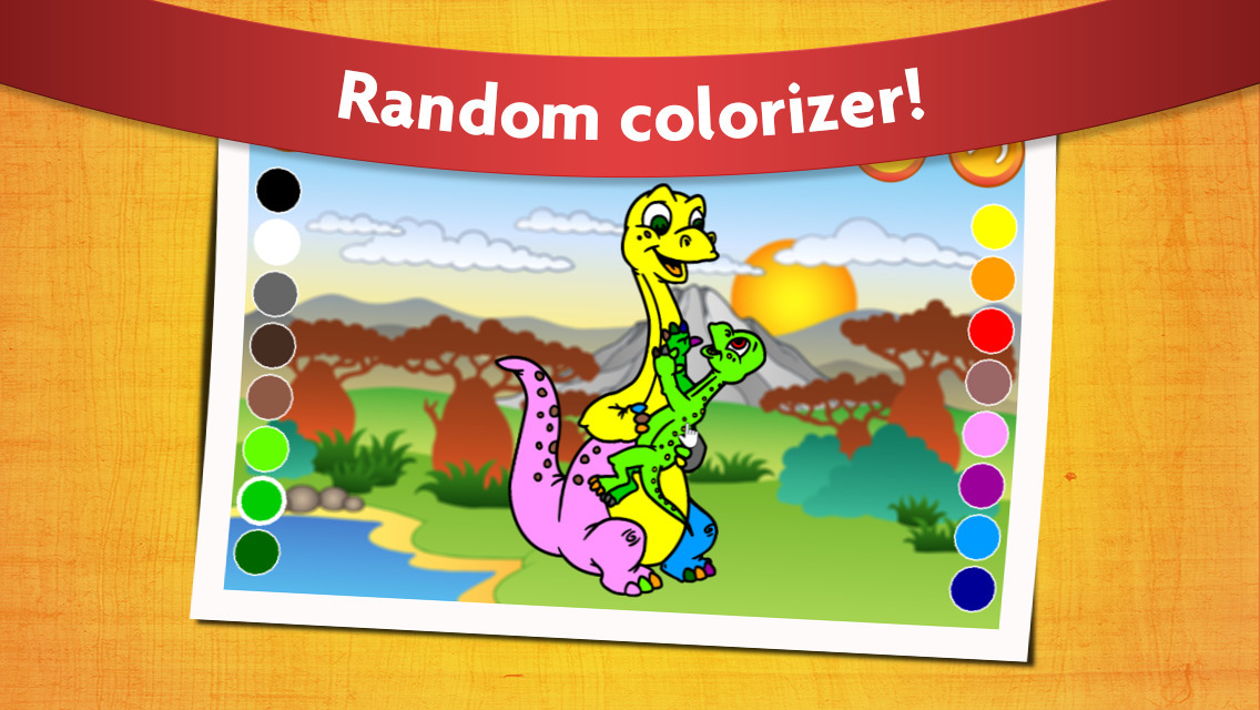 1136x640 Dinosaur Coloring Book For Kids
