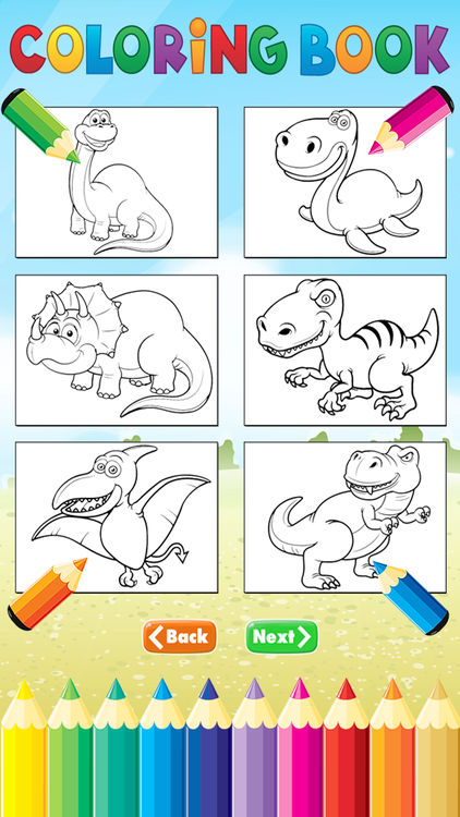 422x750 Dinosaur Dragon Coloring Book