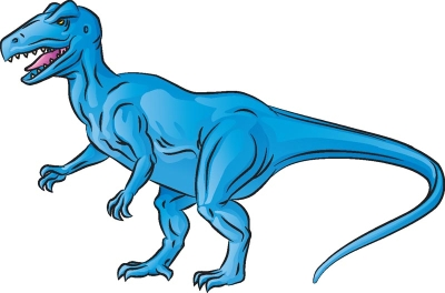 400x264 How To Draw Allosaurus In 6 Steps Howstuffworks