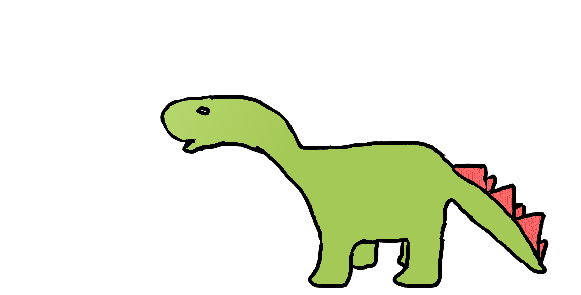 1146x583 My First Dinosaur Drawing Ever