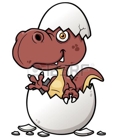 394x450 Vector Illustration Of Cartoon Dinosaur Baby Face Painting