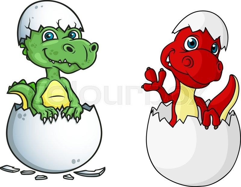 800x621 Baby Dinosaur Cartoon