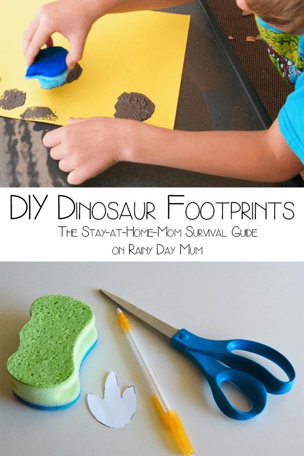 600x900 Diy Dinosaur Footprints