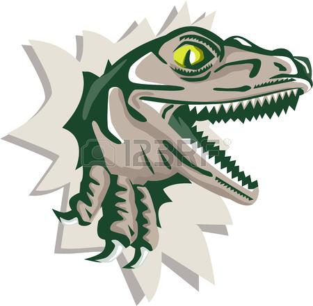 450x441 Drawing Sketch Style Illustration Of A Raptor T Rex Dinosaur