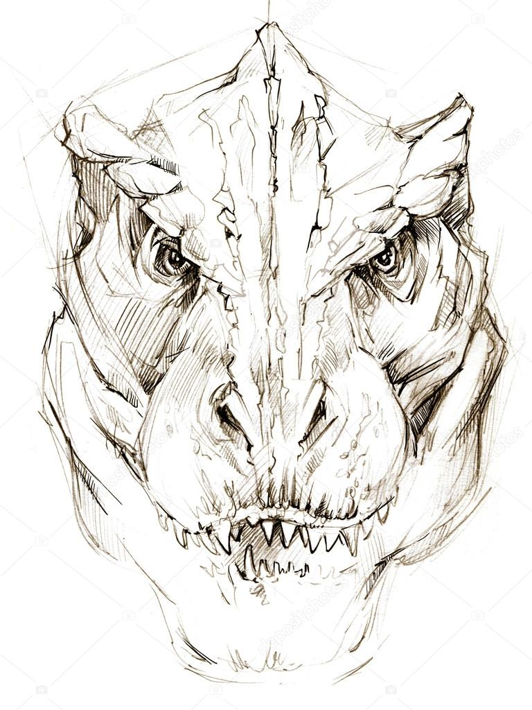 Dinosaur Images For Drawing at GetDrawings | Free download
