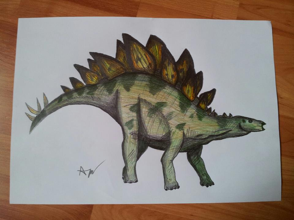 960x720 Dinosaur Pencil Drawing By Patrissaart