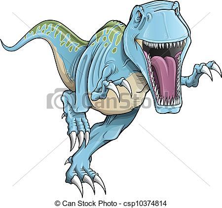 450x422 Tyrannosaurus Rex Dinosaur Vector Illustration Vector Clip Art