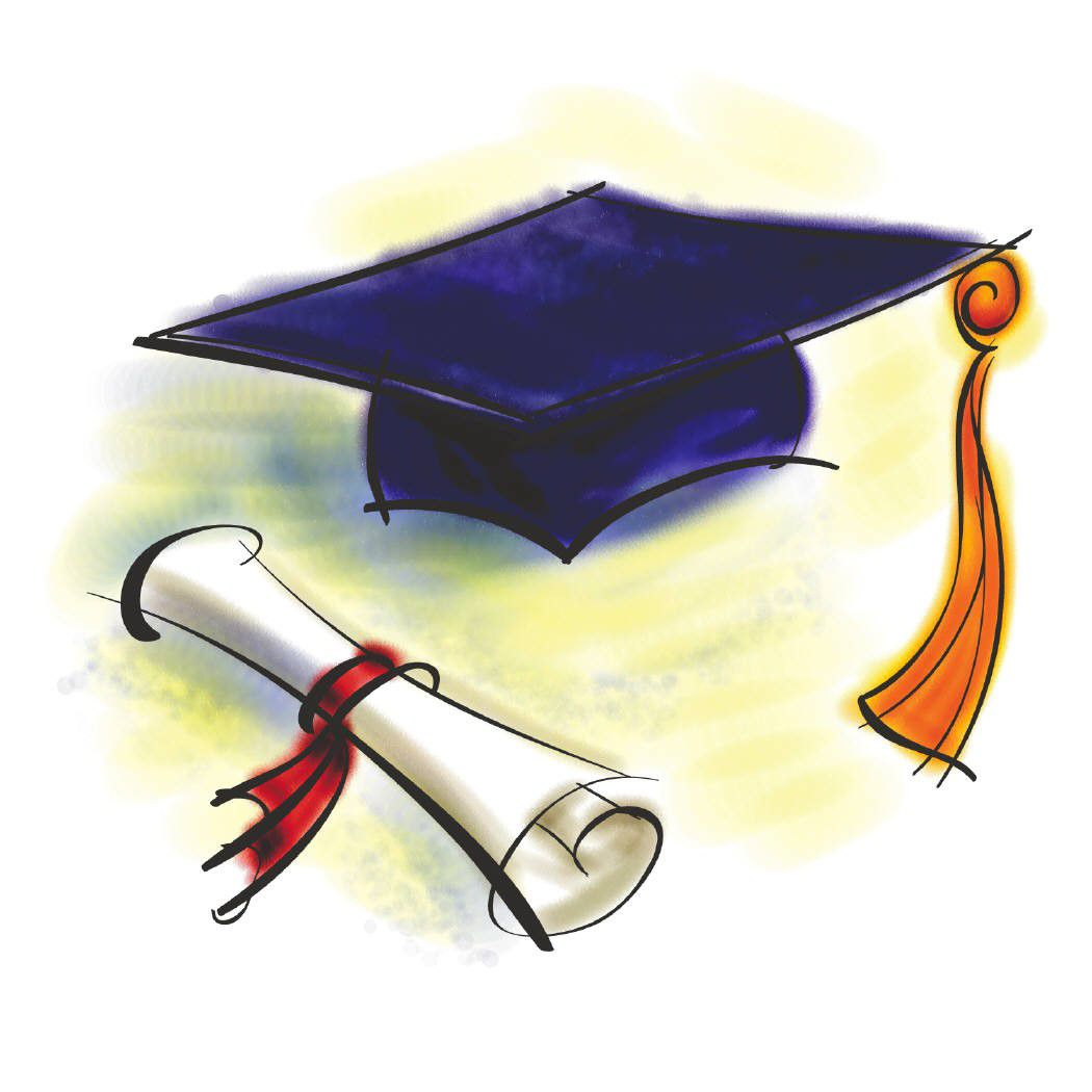 1050x1050 Graduation And Amazing Drawing Diploma Picture