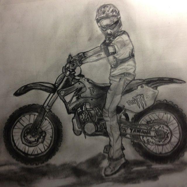640x640 Dirt Bike Drawing Bike Life Bike Drawing And Dirt
